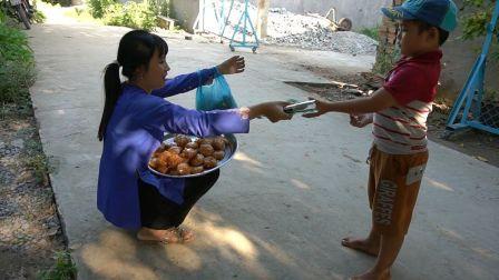 - 越南西部美食渔家人系列 - 最新橙子饼香蕉馒头椰汁两则合辑(2019.7.10)