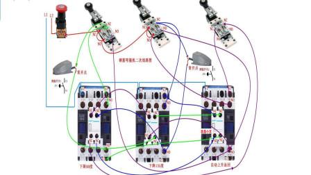 电工知识:如何看懂电路图,钢筋弯曲机工作原理,电路图实物讲解