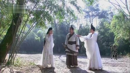 仙女湖:非乐和白鹭仙子在追凳子精的时候,发现了被定住的三公主