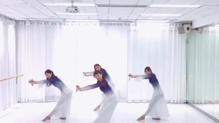 广州行云舞蹈工作室古典舞《离人愁》,【中舞网APP精选】