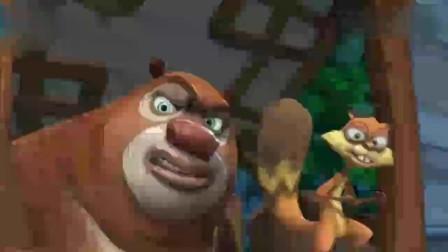 熊出没:光头强真坏,居然在小熊饼干里加了泄药要给熊大吃!