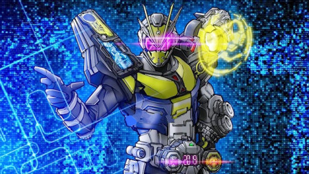 假面骑士:假面骑士时王的01装甲曝光,肩扛低音炮样子很喜感!