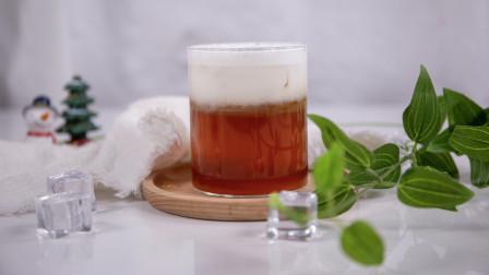茶颜悦色幽兰拿铁的做法——小兔奔跑奶茶教程
