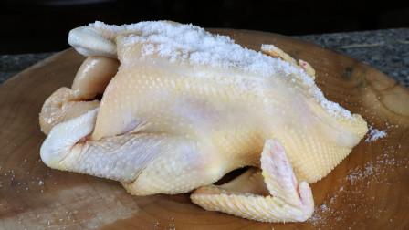 教你一道隔水蒸白切鸡的做法,鸡肉嫩滑口感好,做法超级简单