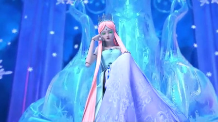 精灵梦叶罗丽:坐姿惊艳的仙子,妩媚妖娆的她,不及冰公主高贵!