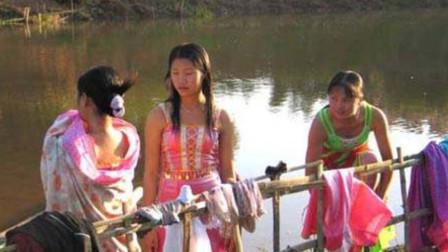 缅甸女人为什么都穿筒裙?当她们把筒裙脱下,真的是大开眼界!