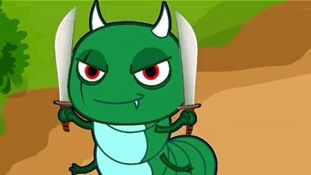 蔬菜宝宝要回家 青虫怪终于要说出刀法的名字,快竖起耳朵听听