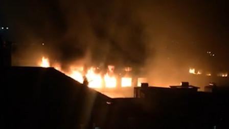 广东东莞一家具厂发生火灾 已致3死3伤