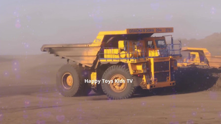 27挖掘机工作表演!水泥搅拌车、推土机、工程车压路掘机工作视频挖土机挖土工作视频