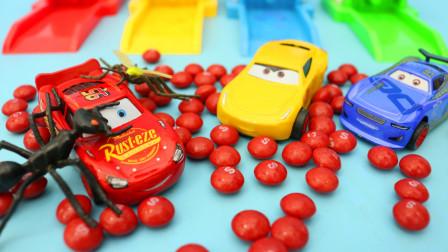 彩虹糖和赛车总动员的危机