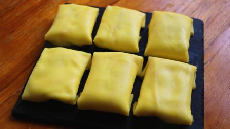 4个鸡蛋,一杯牛奶,教你简单做出好吃的蛋糕,细腻香甜又滑嫩