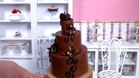 即使是三层的蛋糕,我也能一口一个,奇葩的迷你蛋糕