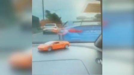 实拍!兰博基尼和宝马105国道飙车 中山交警一查:驾驶人不简单