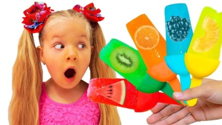 小萌娃做水果味冰激凌,却忘记加糖,哥哥吃完表情都扭曲了!