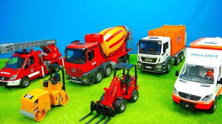 最新挖掘机视频表演36341大卡车运输挖土机+挖机工作+工程车