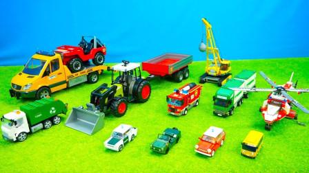 最新挖掘机视频表演36342大卡车运输挖土机+挖机工作+工程车