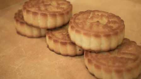 """糕点老店传承清朝规矩,""""五仁月饼""""至少要含七种仁"""
