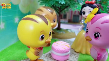 《萌鸡小队》小故事,麦奇是一个懂事的孩子,大家都喜欢懂事的麦奇!