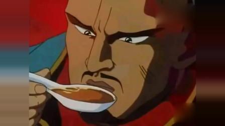 中华小当家:在鸡汤锅里加入蛋清,蛋白质变性可以出去杂质!