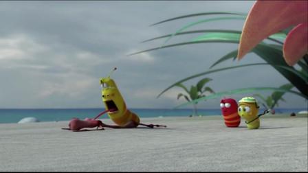 爆笑虫子:黄虫为灭火拼了,还能变出风扇吹灭沙雕的火