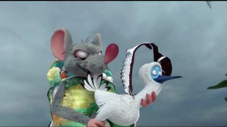 爆笑虫子:一只大白鸡,把一群虫虫机器人打得不能翻身