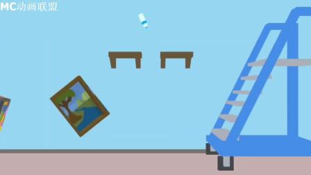 我的世界动画-怪物学院-翻水瓶闯关-Indo Craft animation