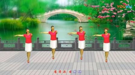 经典广场舞歌曲《微风细雨》好听好看又好学!
