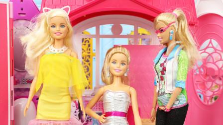 趣盒子玩具故事 芭比娃娃代替艾米成为大明星