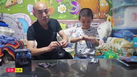 孩子拆5元奥特卡片,3袋拆出2张稀有UR卡,值得买着玩