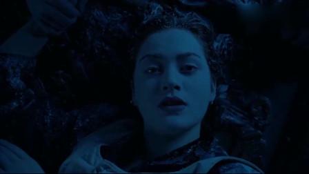泰坦尼克号最虐心片段,杰克被沉入海底,看得我泪流满面!