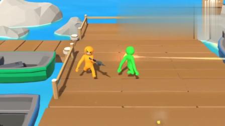 屌德斯&小熙 橡皮人大亂斗 連吃兩個馬里奧變大蘑菇后變成了巨人