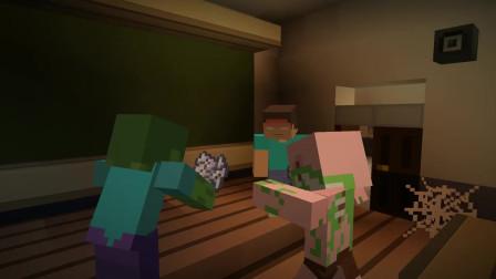 我的世界动画-怪物学院-大扫除挑战-The Spawners