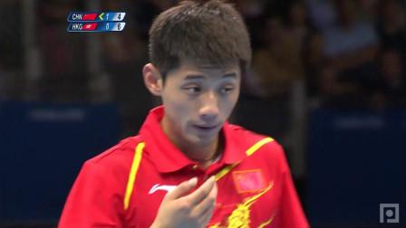 2012奥运会 男单四分之一 张继科vs江天一 乒乓球比赛视频 剪辑