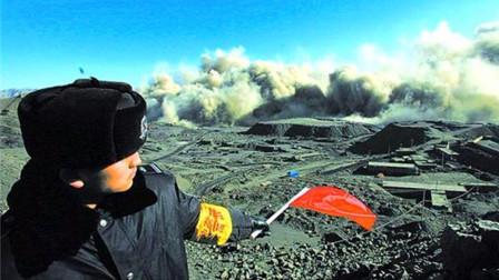 中国最大规模爆破有多恐怖?整座大山瞬间炸低40米,看的我腿都软了