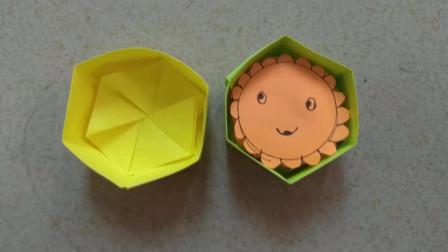 折纸:中秋节月饼和月饼盒怎么用纸折?看到成品我想吃月饼了!
