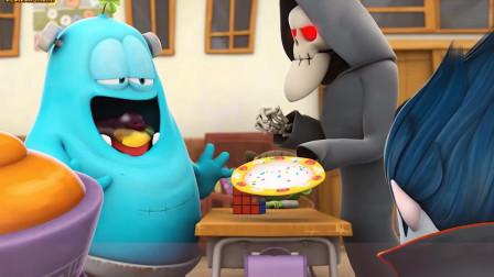 妖怪学院:只有拼成魔方,才可以获得死神送来最后的食物