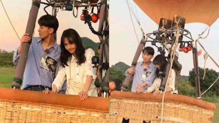 曝张恒准备浪漫热气球向郑爽求婚,原来是在录制《女儿们的恋爱》