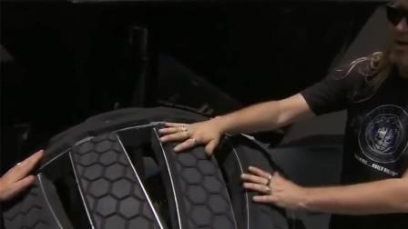 火星上汽车怎么开,连轮胎都很奇葩,长的像章鱼脚