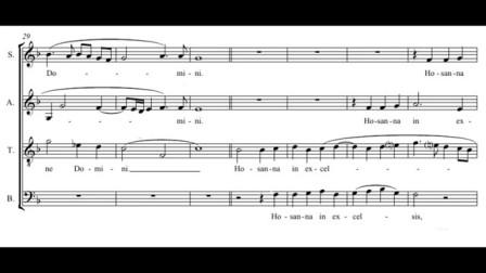Palestrina- Missa Aeterna Christi munera - Sanctus