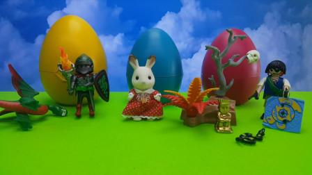 巧克力兔的礼物大彩蛋