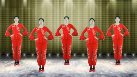 过年啦!一支喜庆的广场舞《好运连连》祝大家新的一年好运连连