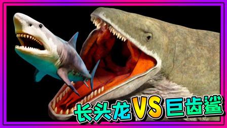 小飞象解说✘海底大猎杀 长头龙VS巨齿鲨!还发现了巨型鲸鱼?乐高小游戏