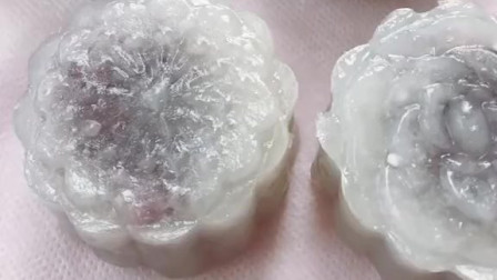教你们如何用西米做水晶月饼,入口Q弹好吃