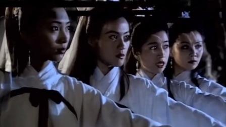 射雕:黄蓉教训欧阳克四位婢女,一套逍遥游掌法,欧阳克都看呆了
