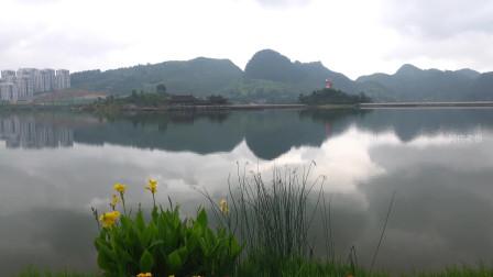 贵州都匀市杉木湖公园