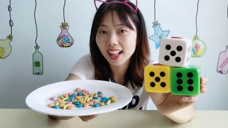"""美食拆箱""""骰子风味软糖"""",趣味造型藏糖果,Q软甜蜜"""