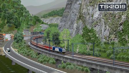 火车模拟2019 - 成昆线 #3:接管K146次列车从普雄站出发 | Train Simulator 2019
