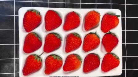 草莓布丁还可以这么做,简单美味,孩子超爱吃