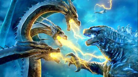 外星基多拉召唤全球怪兽,只有哥斯拉拒绝呼唤,是在挑衅吗
