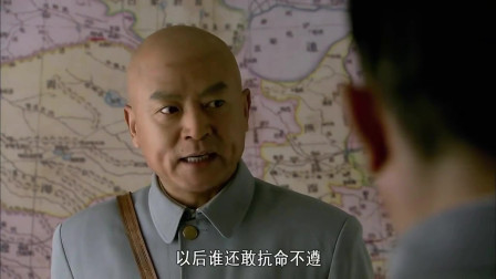 敌营十八年 :长官部下令处决江波,玉莲刑场救江波 !